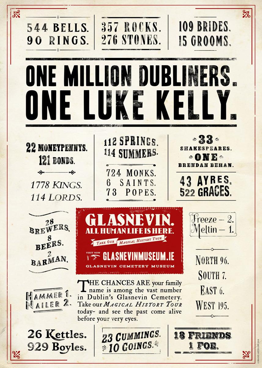 One Million Dubliners. One Luke Kelly.