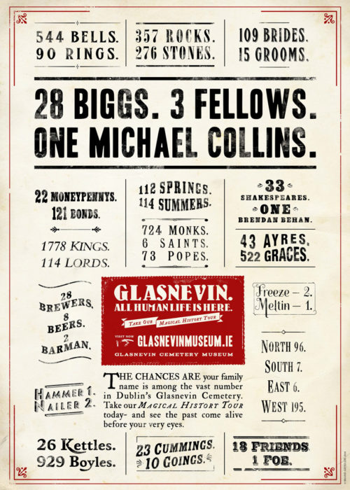 28 Biggs. 3 Fellows. One Michael Collins.