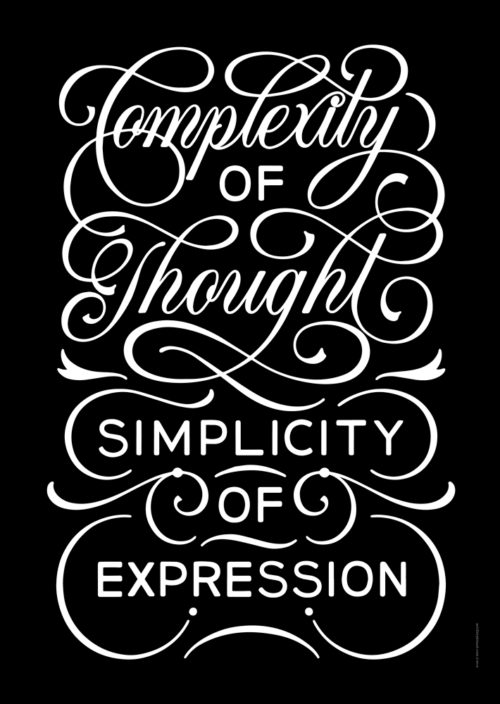 Brown Study - Complexity of Thought