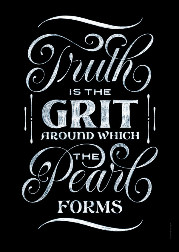 Brown Study - Truth is the Grit