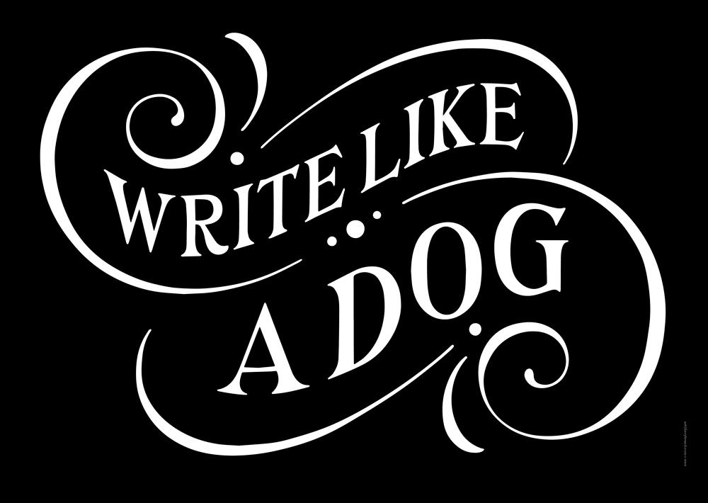 Brown Study - Write like a Dog