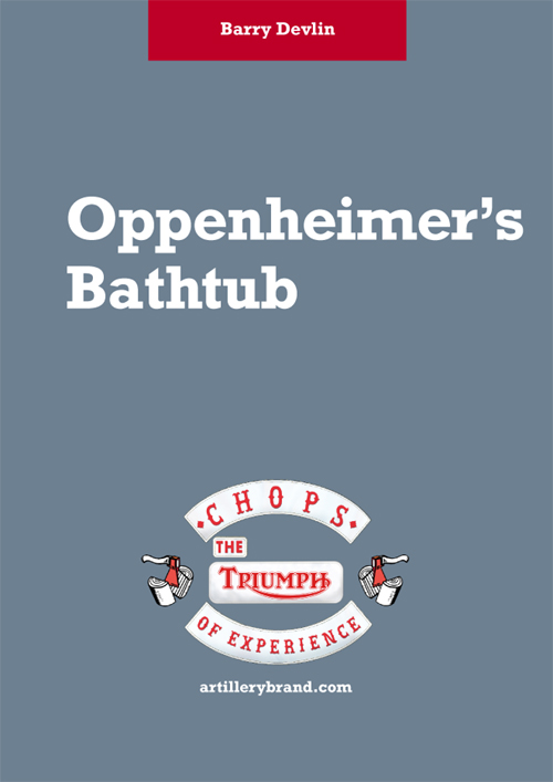Barry Devlin - Oppenheimer's Bathtub